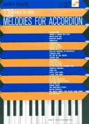 138 WORLD'S FAVORITE MELODIES FOR ACCORDION / akordeon