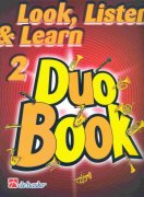 LOOK, LISTEN & LEARN 2 - DUO BOOK  trombone / pozoun