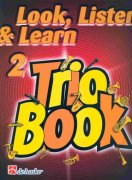 LOOK, LISTEN & LEARN 2 - TRIO BOOK  tenor sax / tenorový saxofon