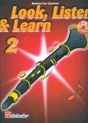 LOOK, LISTEN & LEARN 2 + CD method for clarinet / klarinet