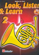 LOOK, LISTEN & LEARN 2 + CD method for horn / lesní roh
