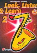 LOOK, LISTEN & LEARN 2 + CD     method for tenor sax