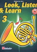 LOOK, LISTEN & LEARN 3 + CD   method for horn / lesní roh