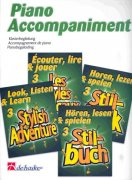 LOOK, LISTEN & LEARN 3 - STYLISH ADVENTURE piano accompaniment for flute solo book