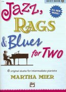 JAZZ, RAGS & BLUES FOR TWO 2 - 1 piano 4 hands