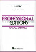 SO WHAT                 professional editions