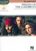 PIRATES OF THE CARIBBEAN + CD / klarinet