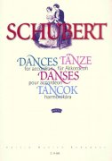 SCHUBERT, Franz  -  DANCES FOR ACCORDION / akordeon