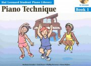 PIANO TECHNIQUE BOOK 1 + CD