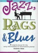 JAZZ, RAGS, BLUES 2  by Martha Mier     piano solo