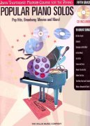 Popular Piano Solos 5 – Pop Hits, Broadway, Movies and More + CD