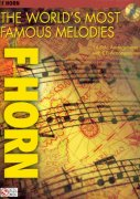 THE WORLD'S MOST FAMOUS MELODIES + CD / lesní roh (f horn)