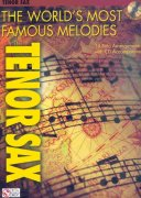 THE WORLD'S MOST FAMOUS MELODIES + CD / tenor saxofon