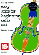 EASY SOLOS FOR BEGINNING CELLO / violoncello + klavír
