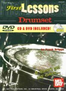 FIRST LESSONS - DRUMSET + CD & DVD