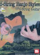 5-STRING BANJO STYLES FOR 6-STRING GUITAR + CD / kytara + tabulatura