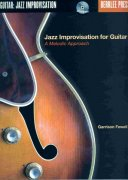 Jazz Improvisation for Guitar - A Melodic Approach + Audio Online / kytara + tabulatura