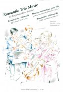 Romantic Trio Music for Beginners (First position)  -  violin I, violin II (viola), violoncello
