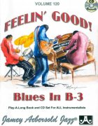 AEBERSOLD PLAY ALONG 120 - FEELIN'  GOOD! (Blues In B-3) + CD