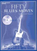 FIFTY BLUES MOVES + CD  / kytara + tabulatura