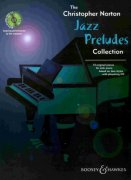 JAZZ PRELUDES by Christopher Norton + CD / sólo klavír