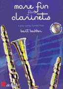 More Fun for Clarinets + CD       clarinet trios
