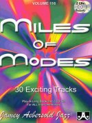 AEBERSOLD PLAY ALONG 116 - Miles Of Modes: Modal Jazz  + 2x CD