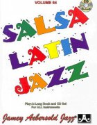 AEBERSOLD PLAY ALONG 64 - SALSA / LATIN JAZZ + CD