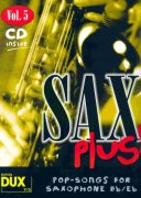 SAX PLUS !  vol. 5 + CD      alto / tenor saxofon