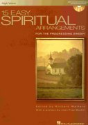 15 EASY SPIRITUAL ARRANGEMENTS + CD   high voice