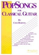POPSONGS 1 for Classical Guitar by Cees Hartog