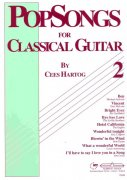 POPSONGS 2 for Classical Guitar  by Cees Hartog