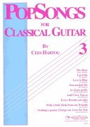POPSONGS 3 for Classical Guitar by Cees Hartog