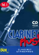 CLARINET PLUS ! vol. 1  +  CD / klarinet