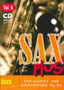 SAX PLUS !  vol. 6 + CD      alto / tenor saxofon