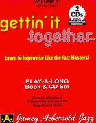 AEBERSOLD PLAY ALONG 21 - Gettin' It Together + 2x CD