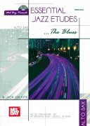 Essential Jazz Etudes...The Blues + Audio Online / altový saxofon