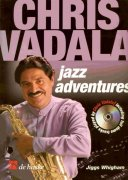 Jazz Adventures with Chris Vadala + CD / altový saxofon
