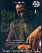 AEBERSOLD PLAY ALONG 115 - RON CARTER + 2x CD