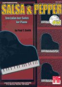 SALSA & PEPPER by Paul T.Smith + CD     ten latin jazz piano solos