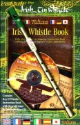 Irish Tin Whistle Book (key of D) + CD pack (book/CD/whistle)