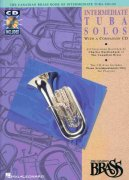 THE CANADIAN BRASS  - INTERMEDIATE TUBA SOLOS + CD   tuba a klavír
