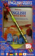 English Penny Whistle Book (key of D)  + CD pack (book/CD/whistle)