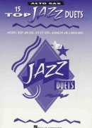 15 TOP JAZZ DUETS -  ALTO SAX