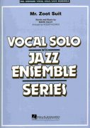 Mr. Zoot Suit - (Key: Cmi) - Vocal Solo with Jazz Ensemble / partitura + party