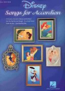 DISNEY - SONGS FOR  ACCORDION (2nd edition)