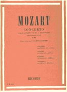 MOZART - CONCERTO in Bb, Op.107, K.622  for Clarinet and Piano