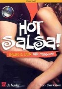 HOT SALSA ! (Salsa & Latin with passion!) + CD / klarinet