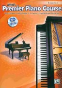 Premier Piano Course 4 - Lesson + CD