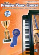 Premier Piano Course 4 - Performance + CD